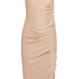 Barbara Casasola - Ruched silk dress