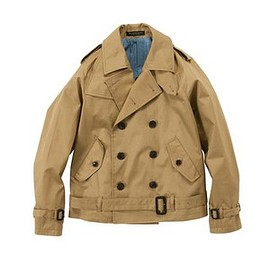 mr.gentleman - RIDER'S TRENCH JACKET