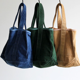 TEMBEA - ALL SUEDE TOTE BAG