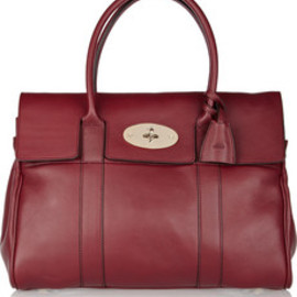 Mulberry - Mulberry  Bayswater textured leather bag red
