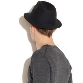 A.P.C. - Felted wool fedora hat