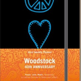 MOLESKINE - Woodstock Moleskine Large Ruled Notebook: Peace, Love, Music (Moleskine Srl)