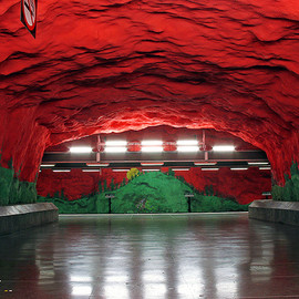 Stockholm Metro Subway  - Art Gallery