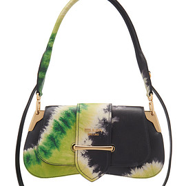 PRADA - SS2019 Tie-Dye Crocodile Pattina Bag
