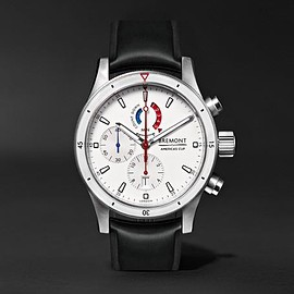 Bremont - Oracle Team USA Regatta Titanium and Rubber Chronograph Watch