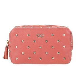 ANYA HINDMARCH - Studded Heart Patty - Coral