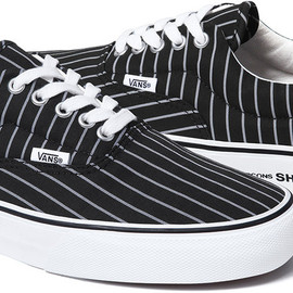 VANS x Supreme x COMME des GARCONS SHIRT - VANS ERA LOW