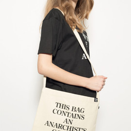 FORTY PERCENTS AGAINST RIGHTS - ANARCHIST GOODIES/ SHOULDER BAG