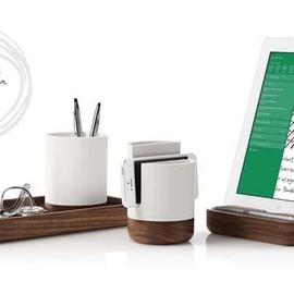 Evernote - Pfeiffer Woodbase Desk Organizer Collection