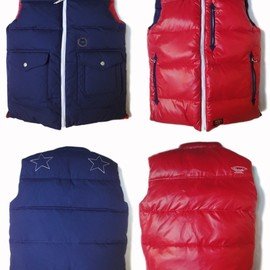 UNRIVALED - UNRIVALED×M&M RV-DOWNVEST NAVY