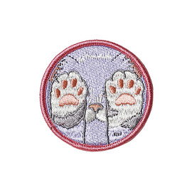 Rosehound Apparel - PASTEL KITTEN PAWS PATCH - LAVENDER