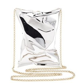 ANYA HINDMARCH - Crisp Packet - Silver