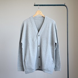 crepuscule - Thermal Cardigan #gray