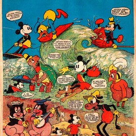 Le journal de Mickey / フランスアンティーク - Le journal de Mickey n°103 - 4 octobre 1936