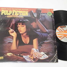 Various Artists - Pulp Fiction Soundtrack (Record: MCA 11103 U.S.press)