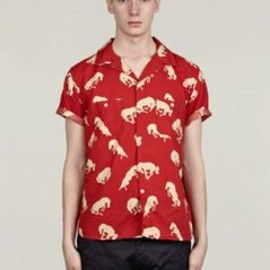 Levi's Made & Crafted - Men's Red Horses Shirt