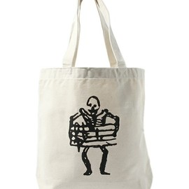 "TOKYO CULTUART by BEAMS - WORKS OF POPHOLIC MAN ""SKULL""Tote-bag"