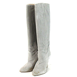 Maison Margiela - CEMENT EFFECT COVERED HEEL BOOTS