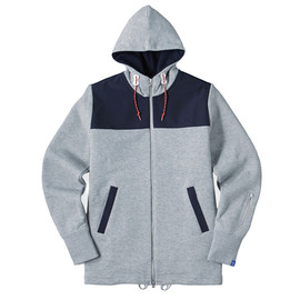 LOOPWHEELER - LW Light×60/40 Cloth Mt.Hoodie