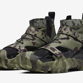 NIKE, Matthew M. Williams - MMW FREE TR 3 - Camo Green/Black