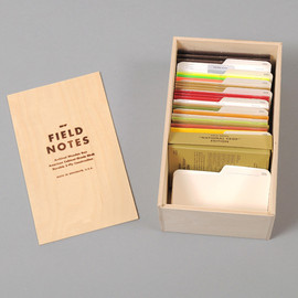FIELD NOTES - FIELD NOTES :: The Archival Wooden Box