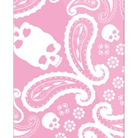 SECOND SKIN - ペイズリー TYPE2 ピンク / for iPhone 5/au