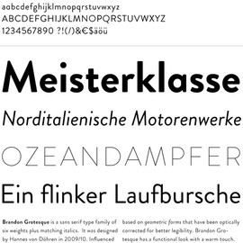 HVD Fonts - Brandon Grotesque