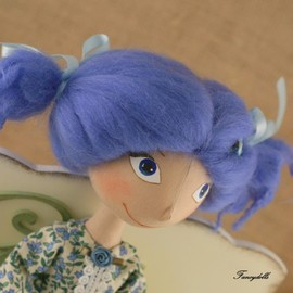 Luulla - Cloth Doll Malvina - made to order