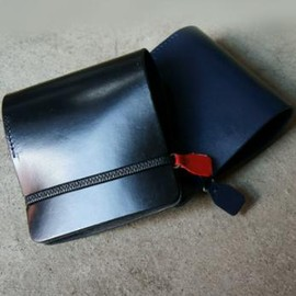 LED - Rubber Leather Wallet