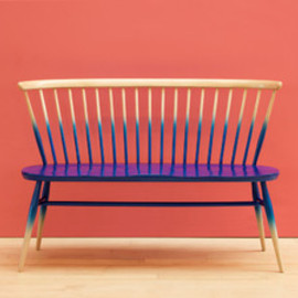 MARGARET HOWELL - ERCOL LOVE SEAT