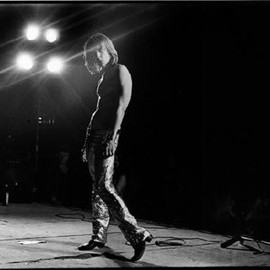 "Mick Rock - Original Print ""Iggy Pop on stage"""