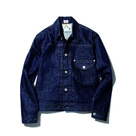 Lee, SOPHNET. - DENIM JACKET (COWBOY )(SLIM FIT)
