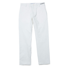 UNIVERSAL PRODUCTS - ORIGINAL TAPERED CHINO TROUSERS [WHITE]