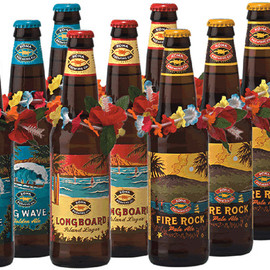 Hawaii Kona Beer - Big Wave Golden Ale/Long Board Island Lager/Fire Rock Pale Ale