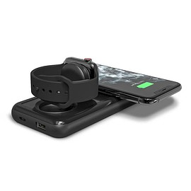 mophie - Power Station All-In-One - Black