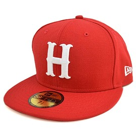 NewEra - Carp H Red/White Classic 59FIFTY