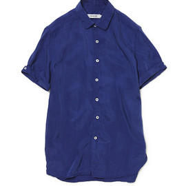 nonnative - DWELLER DRESS SHIRT SS CUPRA TWILL