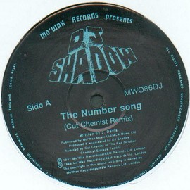 DJ SHADOW - The Number Song (Cut Chemist Remix)