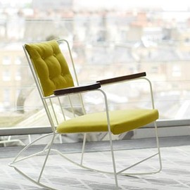 Ernest Race : rocking chair