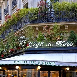Paris - Cafe De Flore, Paris  #cafe #coffee