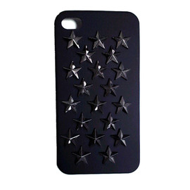 GOD BLESS U - iPhone4/4S STAR STUDS COVER CASE
