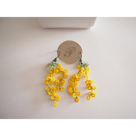 peikko - mimosa pierce  earring