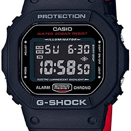 CASIO - g-shock black and red