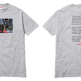 Supreme, Scarface - Scarface Friend Tee