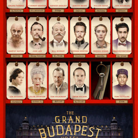 Wes Anderson - Poster The Grand Budapest Hotel