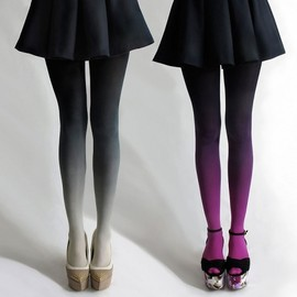 BZRBZR ombre tights - .