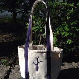 "L.L.Bean - Boat and Tote Embroidery Small ""HITCHHIKER"""