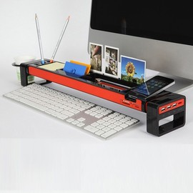 SATECHI - Multi-Functional Stationery STICK / Desk Organizer / iPhone Holder/ Card Reader (w/ 3Port USB Hub)