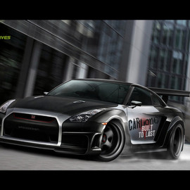 NISSAN - GTR 35 widebody2 by yasiddesign