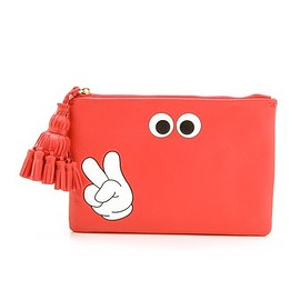 Anya Hindmarch - Anya Hindmarch Georgiana Victory Clutch